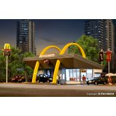 McDonald`s fast food restaurant with McDrive