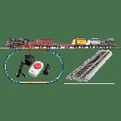 S-Set Güterzug Dampflok G7 + 5 Wg. A-Gleis & B III
