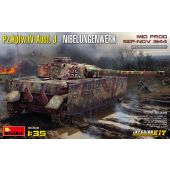 MiniArt 35339 - Pz.Kpfw.IV Ausf. J Nibelungenwerk. MID PROD. SEP-NOV 1944 INTERIOR KIT - 1:35