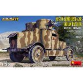 MiniArt 39021 - Austin Armoured Car Indian Pattern British Service INTERIOR KIT- 1:35