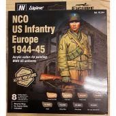 ALPINE NCO US INFANTRY EUROPE 1944-45 COLOR